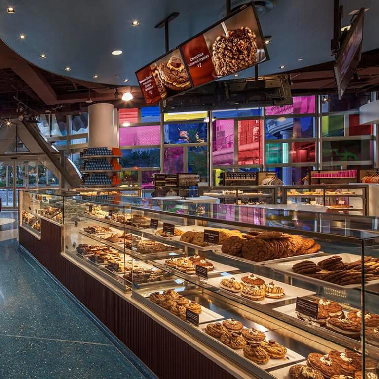 Cookie Selection at HERSHEY'S CHOCOLATE WORLD Las Vegas