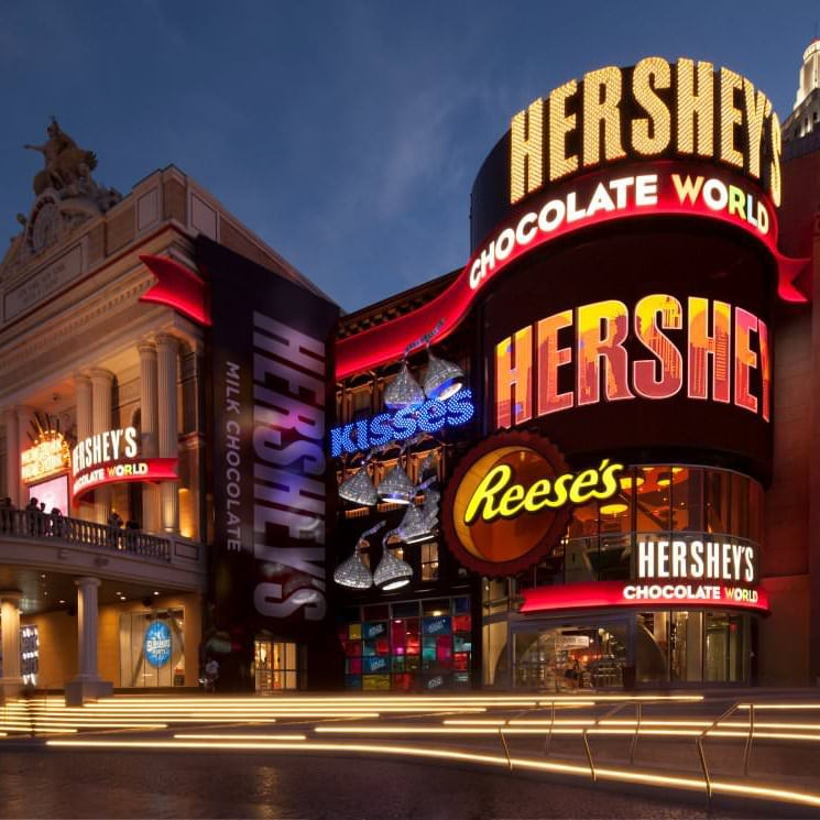 HERSHEY'S CHOCOLATE WORLD Las Vegas Exterior