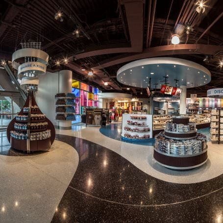 HERSHEY'S CHOCOLATE WORLD Las Vegas Interior